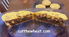 Cut the Wheat, Ditch the Sugar: Brownie Stuffed Chocolate Chip Pillow Cookies: Low Carb, Gluten Free, Sugar Free, Grain Free