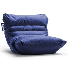 Big Joe Roma Bean Bag Chair Color: Sapphire - http://delanico.com/bean-bag-chairs/big-joe-roma-bean-bag-chair-color-sapphire-516547353/