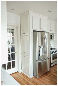 Kitchen Cabinet Doors, White Kitchen Cabinets, Kitchen Storage, Kitchen Decor, Kitchen Ideas, Kitchen Counters, Gray Cabinets, Soapstone Kitchen, Kitchen Cabinetry