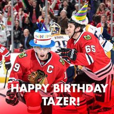 Happy Birthday Tazer! #Captain