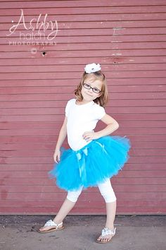 LIL' MISS BUBBLES-- Custom Made Hand-Tied Ribbon Tutu Skirt with Free Flower Clip, Sizes Newborn - 5T, by HAPPYBUBKIN on Etsy