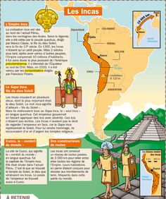 Fiche exposés : Les Incas                                                                                                                                                                                 Plus