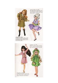 DOLLS FURGA TRE ESSE: CATALOGUE 1967