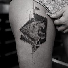 Stunning Realistic Fine Line Tattoos by Balazs Bercsenyi from Bang Bang NYC