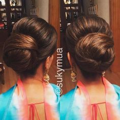 17 Best Indian Hairstyles by Hairstyling Salons and V-loggers in India Curly Hair Care, Wavy Hair, Copper Red Hair, Indian Wedding Hairstyles, Hair Designs, Blouse Designs, Trends, Natural Curls, Balayage Hair