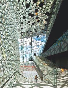 Harpa Concert Hall and Conference Center, Henning Larsen Architects & Olafur Eliasson/Reykjavik, Iceland