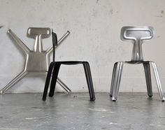 Ultralight Flex Chair: Flat-Pack Aluminum, Strong like Steel