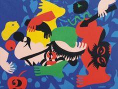 jose-de-guimaraes1 - José de Guimarães José de Guimarães deve o seu nome ao facto de ter nascido em Guimarães.Nasceu no dia 25 de Novembro de 1939.Estudou em Guimarães e fez o secundário em Braga.Ganhou vá~rios prémios.De Milão,Paris,Madrid,Antuérpia e Portugal o pintor José de Guimarães não tem mãos a medir,o seu trabalho é reconhecido internacionalmente e não só participa em exposições como vê serem editados livros sobre a sua obra,escritos por famosos críticos de arte.