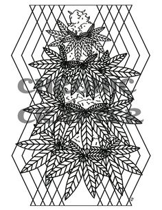 Coloring is the perfect activity when youre high so grab for Printable stoner coloring pages