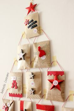 60 Awesome Wall Art Christmas Decor Ideas 50 – Home Design How To Make Christmas Tree, Christmas Wall Art, Christmas Paintings, Noel Christmas, Homemade Christmas, Christmas Crafts, Christmas Ornaments, Christmas Ideas, Christmas Calendar