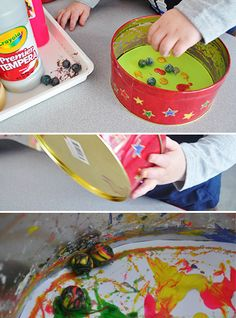 Marble Painting - Making Art with Children: A blog from The Eric Carle Museum