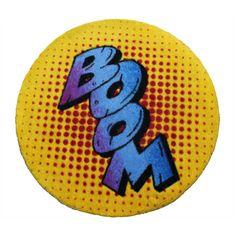 Round Rebel BOOM Mat   BOOM rug   Kids Rugs