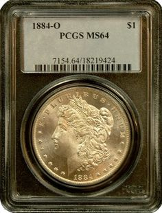 Morgan Silver Dollars NGC/PCGS MS-64 - In Holder