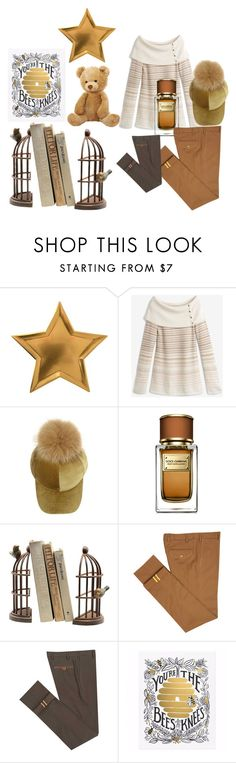 """""""Some Things are Just Golden...."""" by snowflakes214247 ❤ liked on Polyvore featuring Meri Meri, White House Black Market, Dolce&Gabbana, Home Decorators Collection, Diverso and Rifle Paper Co"""