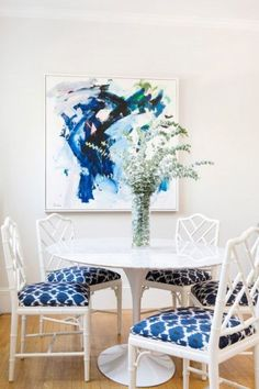 45 Wonderful Dinning Room Ideas With Scandinavian Style Cheap Dining Chairs, Comfortable Dining Chairs, Old Chairs, Bamboo Chairs, Pink Chairs, Chairs For Rent, Chairs For Sale, Hot Pink Room, Chippendale Chairs