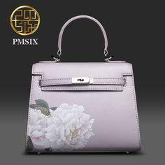 74.46$  Watch now - http://aliedz.worldwells.pw/go.php?t=32653132266 - Pmsix 2017 New Women Cattle Split Leather Handbags Retro Vintage Shoulder Bag Female Messenger Bags Fashion Tote Bag 220025