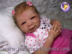 Reborn Doll Myrela by Pedacinho de Gente