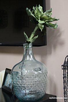 Jar with Single Stem by www.mylifefromhome.com