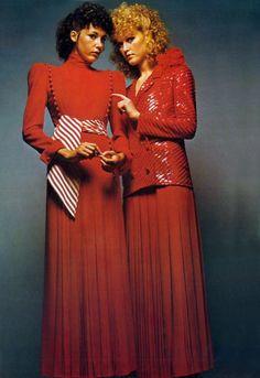 Vogue Paris 1971. Yves Saint Laurent by Jeanloup Sieff