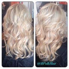 Blonde, blonde blonde! @bpolkhair