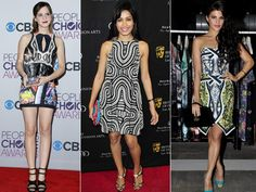 Graphic prints or retro geometric patterns seem to be the season's favourite with celebrity fashionistas. We spotted the glitterati flaunting this 60's trend in monochrome, and even bold, vibrant patterns at recent events. Here are some striking graphic print outfits worn by the stars that we are totally crushing on right now.Image courtesy: BCCL, IANS Don't Miss! Trend Alert: Graphic Knit Sweaters