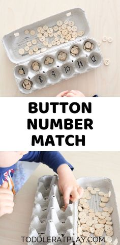 Button Number Match Activity