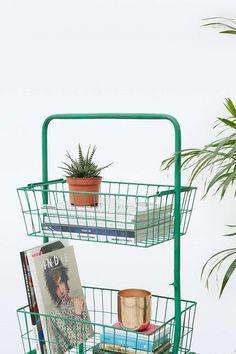Mint Basket Shelf