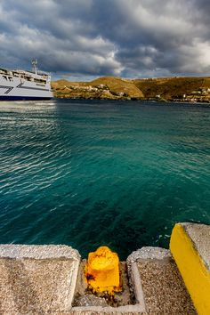 The ferry to Laurion. Kea (Tzia) island, Cyclades, Greece. - Selected by www.oiamansion.com