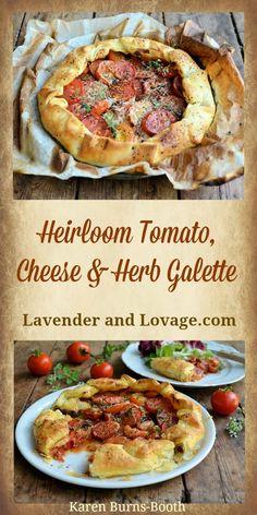 Veg Recipes, Summer Recipes, Healthy Recipes, Drink Recipes, Tomato Cake, Green Tomato Recipes, Galette Recipe, Avocado Pasta, Butter Pie