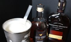 "Bourbon and Toffee Vodka ""Hardshake"""