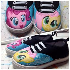 My Little Pony inspired custom painted by LaceysCraftyLetters