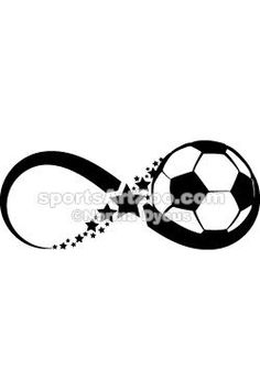 Soccer Infinity by Sports Art Zoo. If you want to use this design please pay for it. It is not expensive. Tattoo Futbol, Soccer Tattoos, Soccer Stars, Sports Art, Sports Teams, Future Tattoos, Soccer Ball, Passion, Tatoos