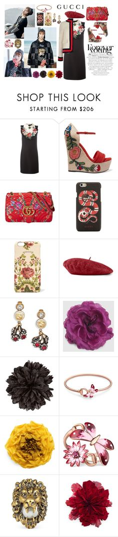 """Spring Date with GUCCI Man"" by fardaniyah ❤ liked on Polyvore featuring Gucci"