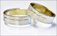 Trouwringen | Juweliers Claessens 18kt handmade gold wedding ring. Wedding band. Brides jewelry.  Wedding jewelry. White gold. Diamond. Brilliant. Design.