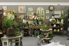 Spring Garden in-store display