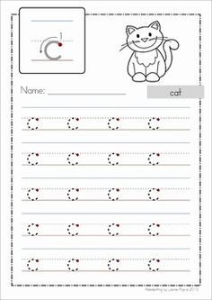 Teaching Handwriting, Free Handwriting, Handwriting Worksheets, Alphabet Worksheets, Handwriting Practice, Tracing Worksheets, Preschool Learning Activities, Kindergarten Writing, Kindergarten Worksheets