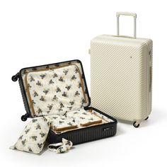 おしゃれスーツケース。これなら欲しいかも。