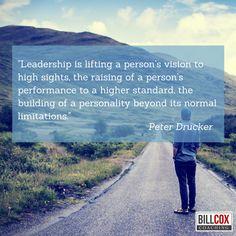 Leadership is ... #Peterdrucker
