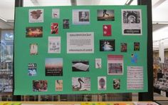 Teen Library Display--First Lines Scavenger Hunt for Teens