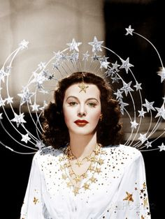 Ziegfeld Girl Hedy Lamarr 1941 - Icon People - Ideas of Icon People - Hollywood Glamour, Classic Hollywood, Old Hollywood Party, Vintage Hollywood, Vintage Beauty, Vintage Fashion, Vintage Glam, Inspiration Artistique, Ziegfeld Girls