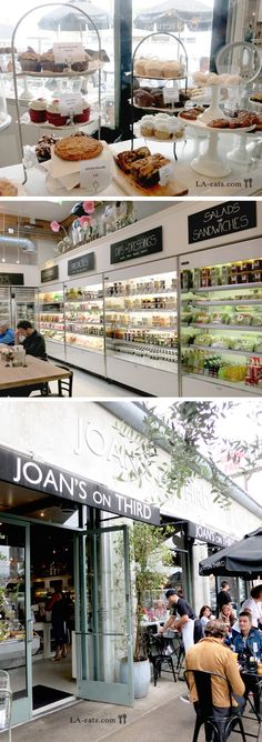 Joan's on Third, 8350 W 3rd St. This adorable breakfast and lunch joint has a fun market feel and is located in the hub of West Hollywood. (Los Angeles, CA)