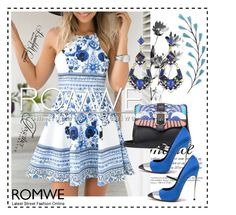 """Romwe 5"" by dinka1-749 ❤ liked on Polyvore featuring Casadei"