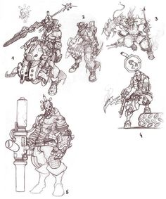 "Blizzard's ""Titan"" Concept Art - Imgur"
