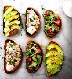 7 Tartine Recipes to Whip Up for Summer Picnics via @MyDomaine