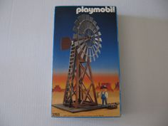 Playmobil 3765 WESTERN WINDMILL Made In GERMANY GEOBRA 1987 Complete Set | eBay