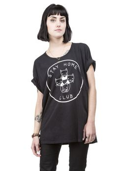 Stay Home Club <3 loose fit tee
