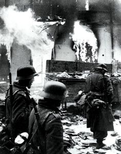 Zhitomir burns in late 1943. This would be the last Soviet town to fall victim to the German Blitzkrieg. From henceforth, Army Group South would be in full retreat, fighting for its life.