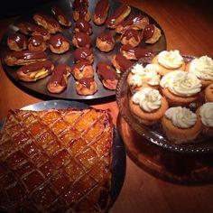 Carré confiture, soes & cake