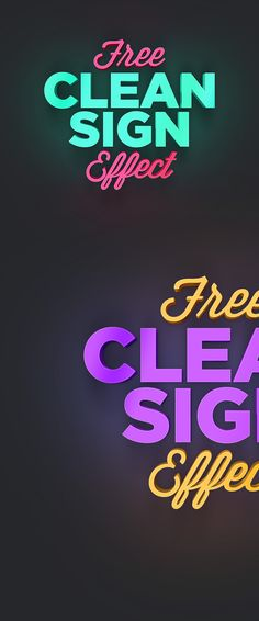 free-clean-sign-photoshop-effect