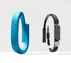UP by Jawbone: a wristband that collects data based on your movements, sleep patterns, calories burned, food intake, etc. Paired with the corresponding app and you get personal insight into your daily habits and how to improve on them.